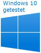 Windows 10 getestet